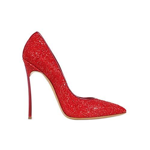 Simples Chaussures Étanche Red Soirée Chaussures Banquet De Brillantes Robe Forme Profondes Femmes Peu De En Pointu Aux Plateforme Paillettes Stiletto RqUATnw