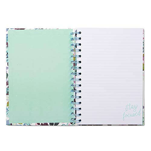 Small Hardcover Journal Notebook Notepad: Tri-Coastal Design Lined Spiral Notebooks/Journals with Cute Cover Design and Phrase - Personal Diary for Writing Notes in and Journaling -