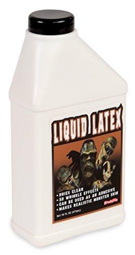 Kangaroos Professional Grade Liquid Latex Makeup, 16 Oz Pint