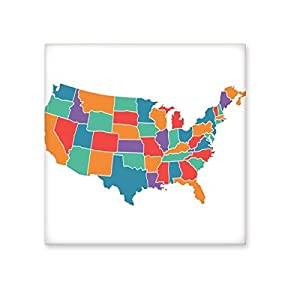delicate America State Map the USA the United States Pattern Ceramic Bisque Tiles for Decorating Bathroom Decor Kitchen Ceramic Tiles Wall Tiles