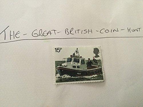 Royal Mail River Patrol Boat 15p 150th Anniversary of Metropolitan Police
