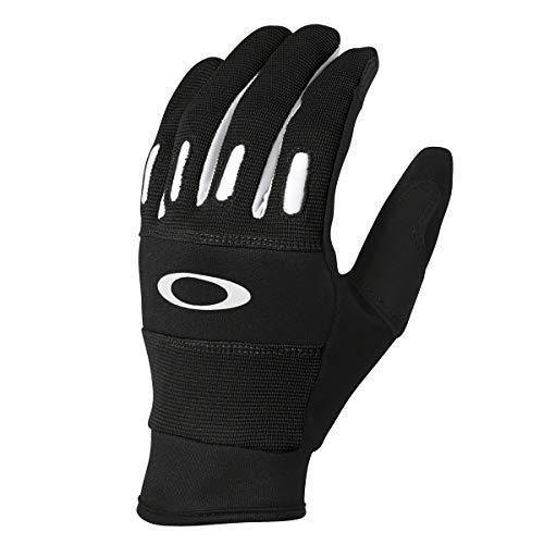 - Oakley Mens Factory 2.0 Gloves Large Jet Black