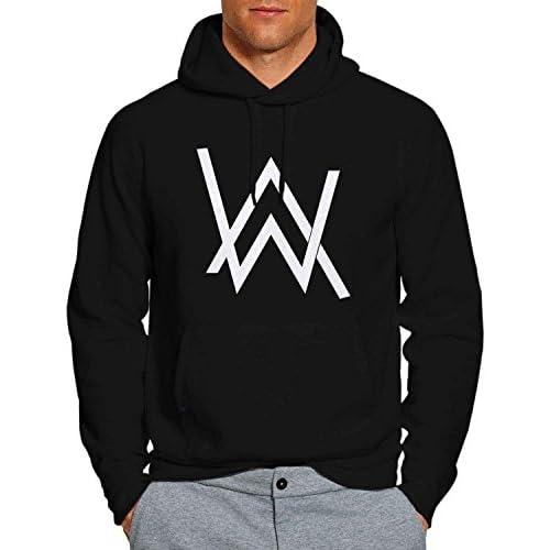 4e76c7d8eedc Alan Walker 5 Hoodie Pullover Unisex Sweatshirt BW on sale ...