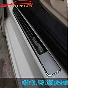 Car Accessories Door Sill Pedal For Zs 2017 2018 Door Sill Protection Cover Car Sticker