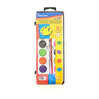 Bazic Products Kids Crafts Coloring Book, Washable Markers, Crayons and Water Coloring Paint, For Kids Ages 4-8: Office Products
