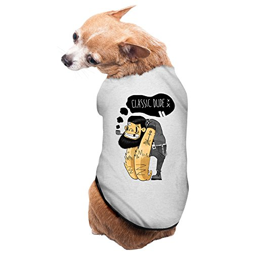 gray-classic-dude-pet-supplies-big-dog-clothing-small-dog-costumes