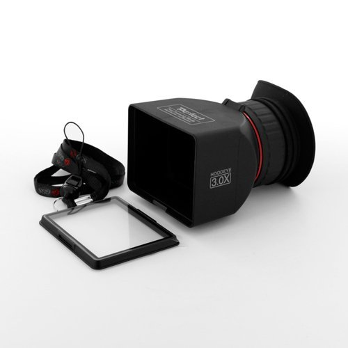 GGS Perfect HD DSLR LCD Foldable Viewfinder with 3.0x Magnification