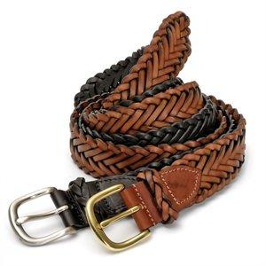 ed03ab72 Hand-Braided Leather Belt: Amazon.co.uk: Clothing
