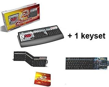 Steelseries Zboard - Teclado (LED, USB), Color Negro y Gris QWERTY (Español): Amazon.es: Informática