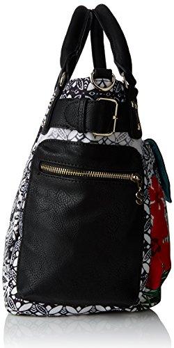 DesigualMcbee Eixample Tropical - Bolso bandolera mujer Negro - negro