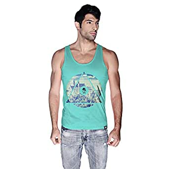 Creo Germany Tank Top For Men - M, Green