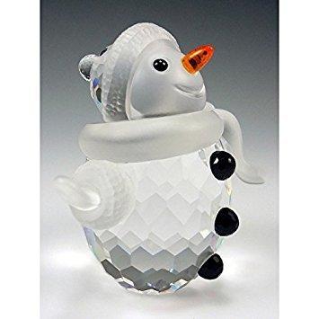 Swarovski Snowman Figurine
