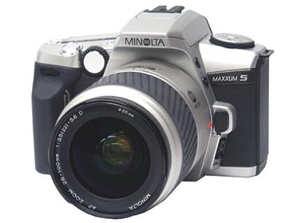 amazon com minolta maxxum 5 35mm slr kit with 28 100 lens slr rh amazon com konica minolta maxxum 5d instruction manual Dynax Forum