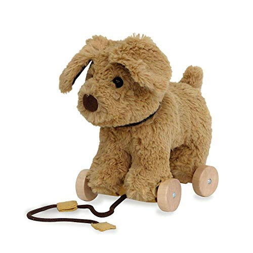 Little Bird Told Me Pull-Along Toddler Toy - Dexter Dog
