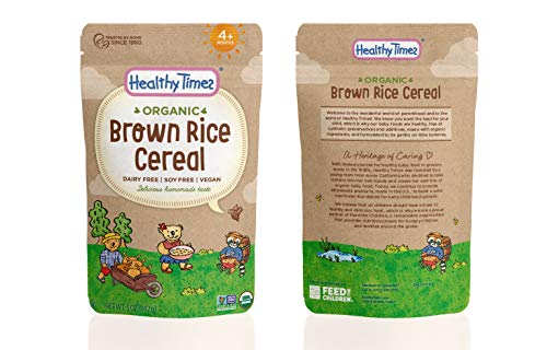 baby rice cereal organic buyer's guide for 2019