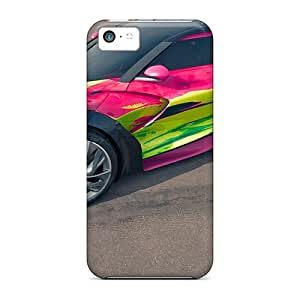 For Iphone 5c Premium Tpu Case Cover Cool-racing-car Protective Case