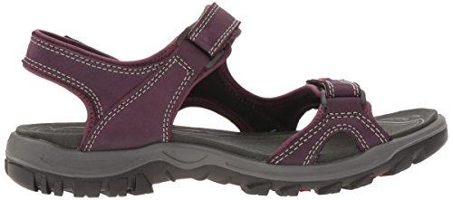 Ecco Damen Offroad Lite Sandalen Violett (50114mauve / Nero)