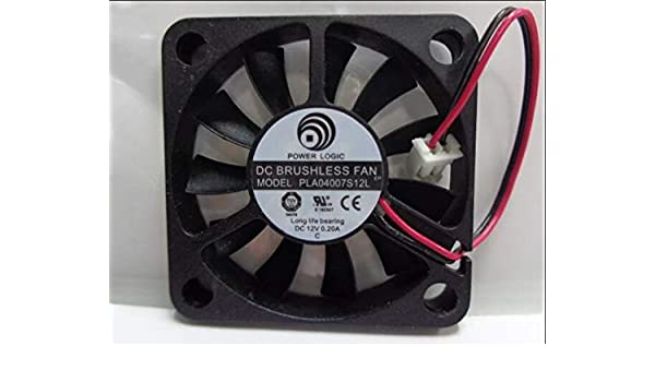 40x40x07mm PLA04007S12L 4cm 12V 0.2A 2Wire Coolin Fan