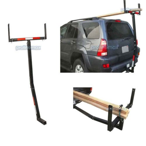 2'' Trailer Hitch Pickup Truck Bed Extender Carrier Load Bar Hauler 375 LB -