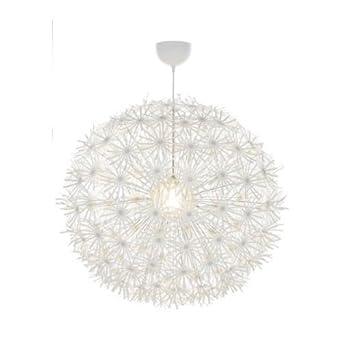 ikea pendant lighting. ikea maskros pendant light paper lamp diameter 80 cm dandelion effect white lighting h