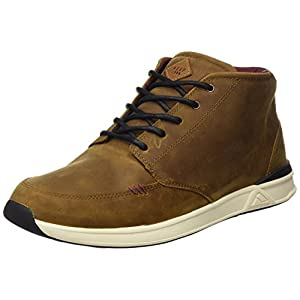 Reef Men's Rover Mid FGL Fashion Sneaker, Brown, 8 M US