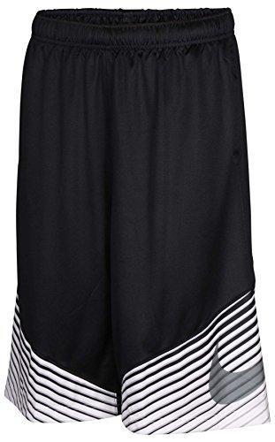 Nike Boys' Dri-FIT Elite Reveal Shorts Small Black/White