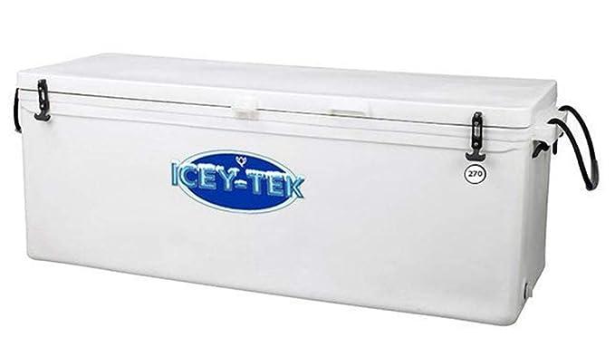 ICEY-TEK Classic 270 Quart Cooler - Long Box Style Ice Chest