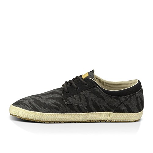 888855402831 - Sanuk Mens Cochise Loafers Shoes Footwear, Black Tigerbolt, Size 09 carousel main 2