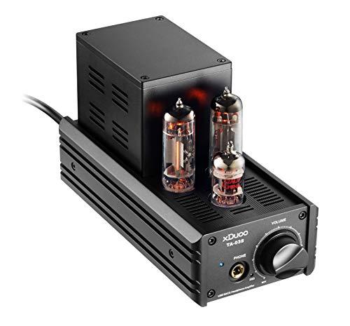 (DAC USB Audio Tube Amplifier DSD, Pro Grade PC/Laptop/Computer Headphone Amplifier with Triple Tubes)