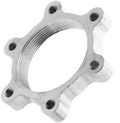 5Pcs Threaded Hubs Disc Brake Rotor 6Bolt Flange Adapter for Bike Freewheel