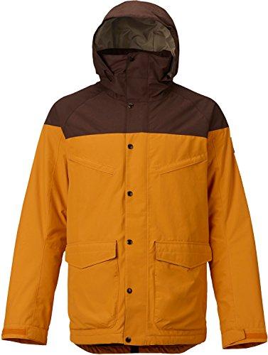 - Burton Men's Breach Jacket, Golden Oak/Chestnut, X-Large