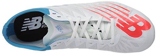 New Balance Women's Vazee Verge v1 Track Shoe, White Munsell/Flame, 7 B US by New Balance (Image #8)