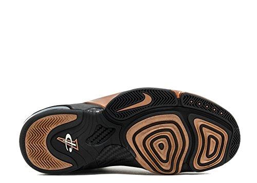 Nike Mens Zoom Penny VI Basketball Shoe Black, Black Metallic Copper