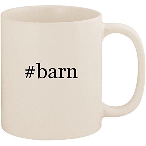 #barn - 11oz Ceramic Coffee Mug Cup, White