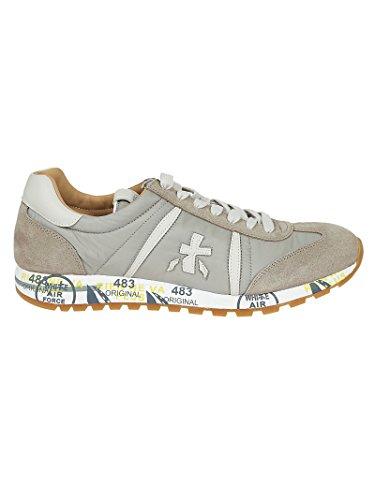 Premiata Mens Lucy3133 Sneakers In Camoscio Grigio