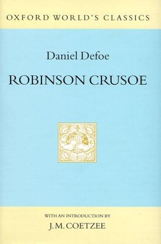 Book cover for Robinson Crusoe