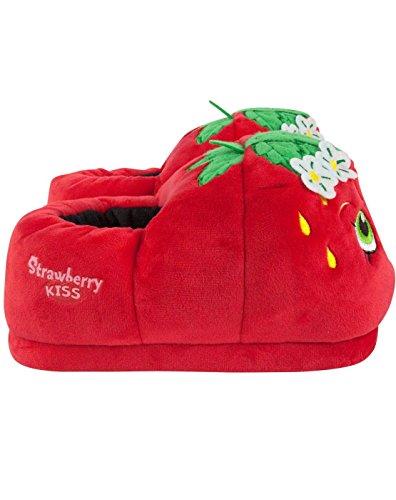 Shopkins Strawberry Kiss Women's 3D Slippers