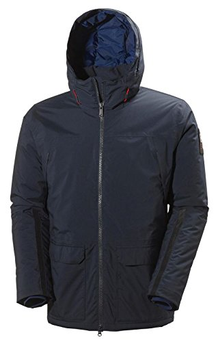 Helly Hansen Men's Shoreline Parka, Navy, Large