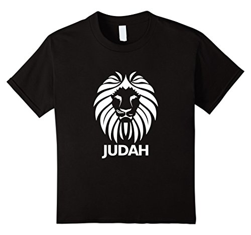 Price comparison product image Kids Hebrew Israelite T Shirt Lion Of Judah Clothing Tee 6 Black