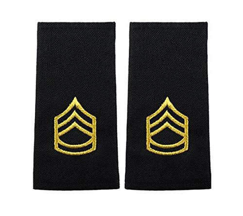 US Army Male Rank Epaulets - Sergeant First -