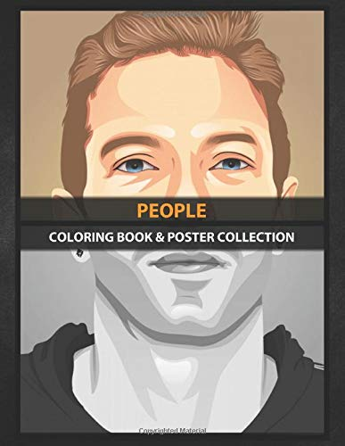 Coloring Book & Poster Collection: People Chris Martin Coldplay In Vector Illustration Cartoons: Amazon.es: Coloring, PeopleNU, Coloring, PeopleNU: Libros en idiomas extranjeros