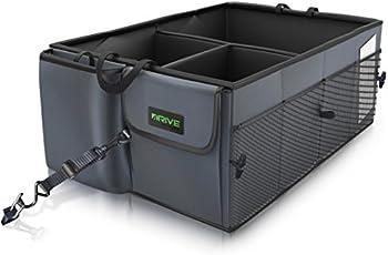 Drive Auto Products Car Trunk Storage Organizer w/ Straps