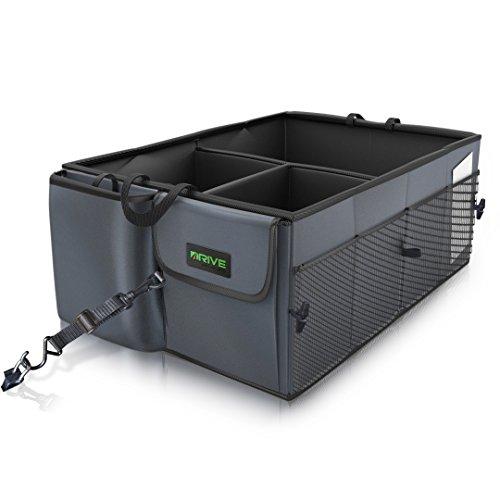 Drive Auto Products Car Trunk Storage Organizer with Straps 1-Pack  sc 1 st  Amazon.com & Pickup Bed Storage: Amazon.com