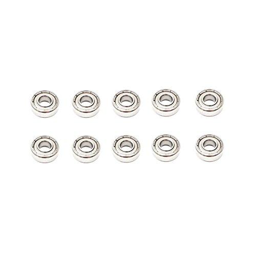 (10x 6305 ZZ Single Row Deep Groove Ball Bearings - 25x62x17 mm)