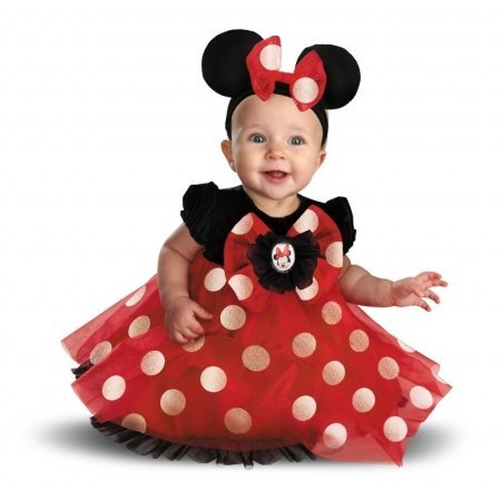 Disguise Disney Red Minnie Mouse Infant Costume 12 - 18 Months ()