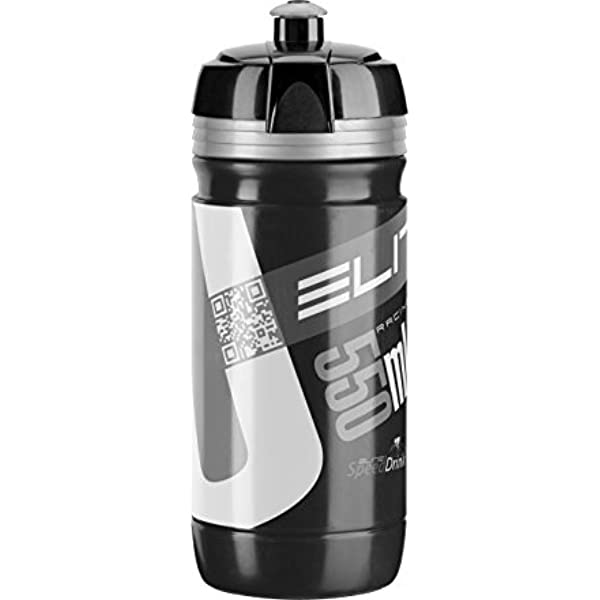 Elite Drinking Bottle Fly Vuelta 2020 550 ML Black Bicycle