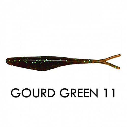Big Bite Baits JM411 Jerk Minnow Gourd Green, 4
