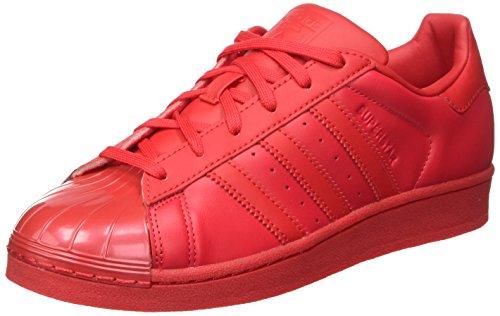 Rayred Superstar Damen Rot Cblack Rayred Basketballschuhe adidas Glossy 4XOwq