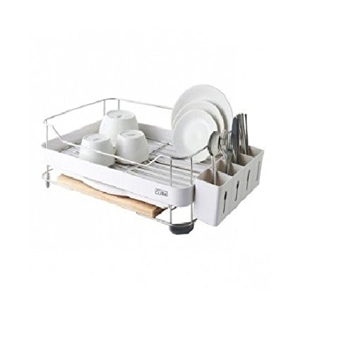 Wide Dish Rack with Cuttingboard