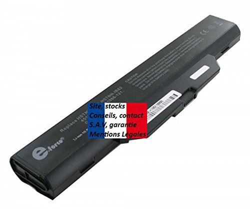 E-Force ® Laptop Battery for HP 500764-001, 500765-001 501870-001/France/French 48hr delivery, Monitoring, Guaranteed by SITE 513129-121 – Free Delivery (Imprint). Long Battery Life.